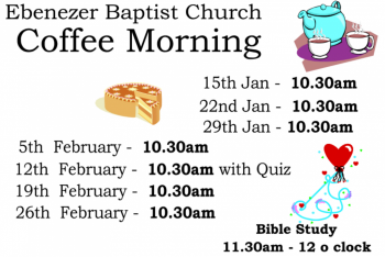 January Term dates coffee am